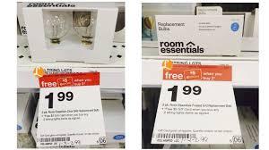 Target Outdoor Lights String Money Maker On Room Essential Light Bulb Packs At Target No