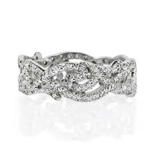 unique wedding ring vine diamond wedding band unique wedding ring designs nyc