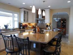 kitchen table and island combinations custom kitchen island table combination kitchen design