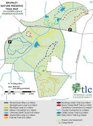 Buckeye Trail Map Brumley Family Nature Preserve Opens On 613 Acres Off New Hope