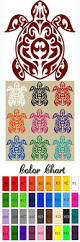 cute tortoise ainmal car stickers sea turtle posters home decor