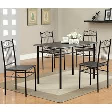 black metal dining table and chair set steal a sofa furniture