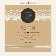 wedding invitations vector convite do casamento de cartão laçado decoração wedding card