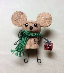 our version of the cork mouse for our bazaar used a