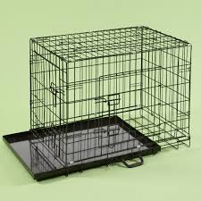 inch extra large dog crate black