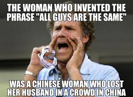 Who Invented Memes - the woman who invented the phrase all guys are the same weknowmemes