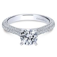 gabriel and co engagement rings kirsten 14k white gold engagement ring er6649w44jj