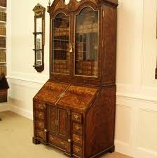 Secretary Desk With Hutch by Antique Mahogany Secretary Desk With Rosewood