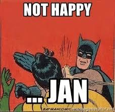 Batman Slapping Robin Meme Maker - not happy jan batman slap robin meme generator