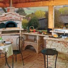 cuisine extérieure d été cuisine d été extérieure en reconstituée sur mesure