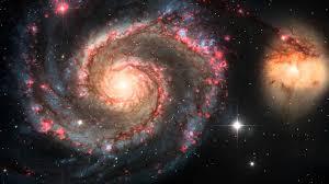 messier galaxy royalty free footage