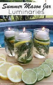 Best Backyard Bug Repellent Diy Summer Mason Jar Luminaries Summer In Jars A Little