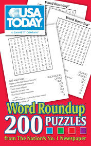 usa today crossword answers july 22 2015 usa today word roundup 200 puzzles from the nation s no 1