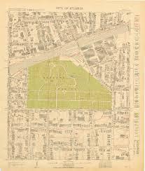 Map Of Atlanta Grant Park Atlanta U0027s Motoring Suburbs