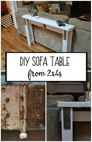 Diy Sofa Table Ideas 99 Best Built From Scraps Images On Pinterest Craft Projects