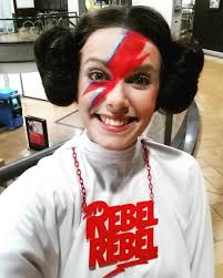 Rebel Halloween Costume Diy David Bowie Halloween Costume Mars Edition