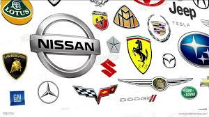 nissan logos reverse auto brands logo loop stock animation 7386790