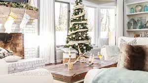 christmas decorations home rustic glam holiday decor home tour part 1