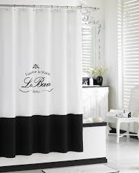 Paris Fabric Shower Curtain by Stunning Le Bain Collection Contemporary Transformatorio Us