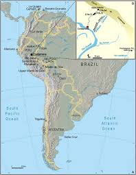 Equator Map South America by A 60 Million Year Cenozoic History Of Western Amazonian Ecosystems
