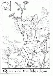 awesome flower fairy coloring pages 25 with additional picture