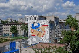 power of imagination italian artist millo recently spent some time in ukraine where he was invited to create a new mural on a wall of juvenile penitentiary in kremenchuk for
