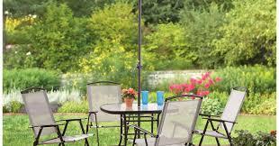 Swivel Outdoor Patio Chairs Patio U0026 Pergola Beautiful 7 Piece Patio Dining Set With Swivel