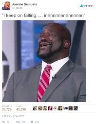 Alicia Keys Meme - i keep on falling alicia keys fallin shaq sings know