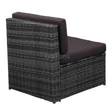 Rattan Patio Furniture Sets - 7pcs rattan outdoor patio sofa set sectional garden furniture set