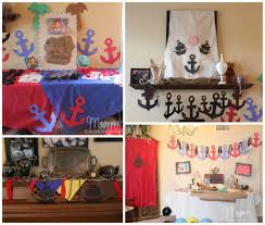 Kids Birthday Party Decoration Ideas At Home Jake And The Never Land Pirates Birthday Party