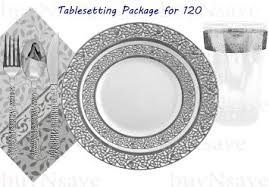 wedding plates cheap disposable dinnerware plastic wedding plates home design