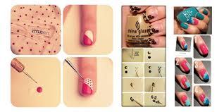 Beautiful Step By Step Nail Art Designs At Home Ideas Eddymerckx - At home nail art designs for beginners