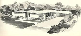 Vintage Southern House Plans Design C 1215 House Plans 1960s Homes Vintage House Plans Mid