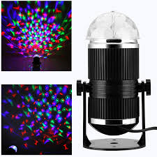 where can i buy disco lights sound activated rotating rgb led music disco stage light for