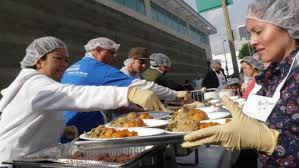 best places to volunteer on thanksgiving