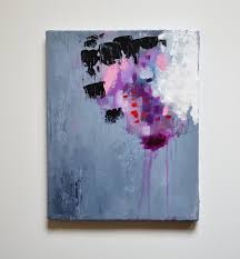 january 8x10 inch canvas art abstract painting original
