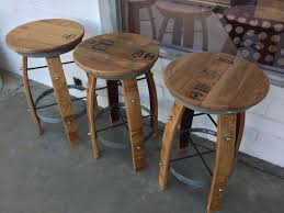 Whiskey Barrel Chairs Wood Barrel Bar Stools Ideas Med Art Home Design Posters