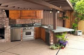 Pizza Kitchen Design Backyard Kitchen Designs Adding Some Touches Would Make