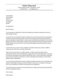 retail supervisor cover letter retail stock clerk cover letter