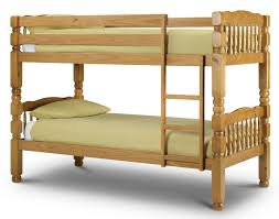 Abdabs Furniture Chunky Pine Bunk Bed - Pine bunk bed