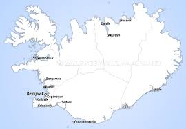 Thailand Blank Map by Iceland Political Map