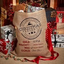 santa sacks personalised or large santa sack giftpup