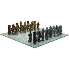 fantasy chess set king arthur fantasy chess set cc9382 by zombies playground