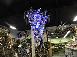sheer serendipity upside down christmas tree