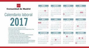 calendario imss 2016 das festivos el calendario laboral de 2017 en madrid pierde el festivo de