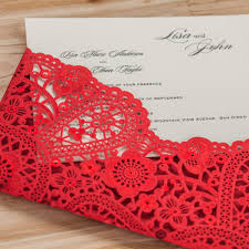 Shop Invitation Card Online Shop Laser Cut Wedding Invitations Cards Black Red Gold
