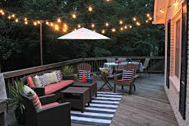 Hanging String Lights by Outdoor Deck String Lighting Collection Including Ideas Led Lights