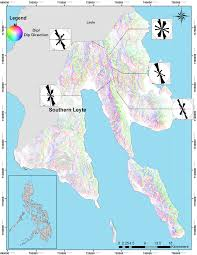 Philippines Map World by Structurally Controlled Hazard Mapping Of Southern Leyte