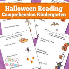 halloween reading comprehension worksheets for kindergarten itsy