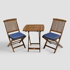 Folding Chair With Table Bistro Sets And Outdoor Furniture Sets World Market